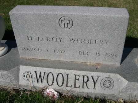 WOOLERY, H. LEROY - Dawes County, Nebraska | H. LEROY WOOLERY - Nebraska Gravestone Photos
