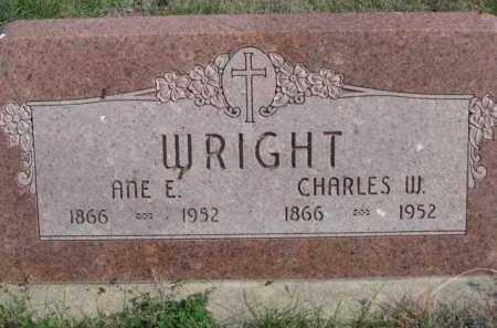 WRIGHT, ANE E. - Dawes County, Nebraska | ANE E. WRIGHT - Nebraska Gravestone Photos