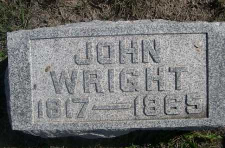 WRIGHT, JOHN - Dawes County, Nebraska | JOHN WRIGHT - Nebraska Gravestone Photos