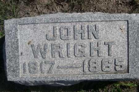 WRIGHT, JOHN - Dawes County, Nebraska | JOHN WRIGHT - Nebraska Gravestone Photos