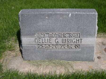 WRIGHT, NELLIE G. - Dawes County, Nebraska | NELLIE G. WRIGHT - Nebraska Gravestone Photos