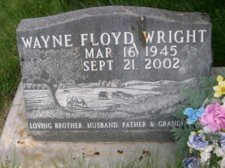 WRIGHT, WAYNE FLOYD - Dawes County, Nebraska   WAYNE FLOYD WRIGHT - Nebraska Gravestone Photos