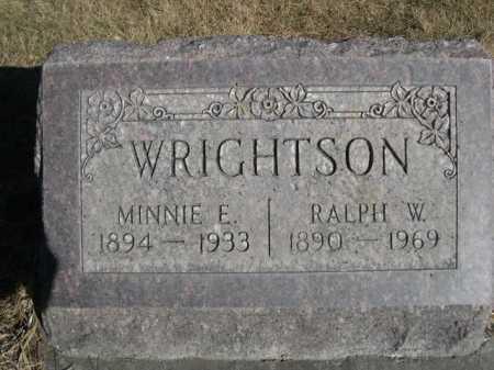 WRIGHTSON, MINNIE E. - Dawes County, Nebraska | MINNIE E. WRIGHTSON - Nebraska Gravestone Photos