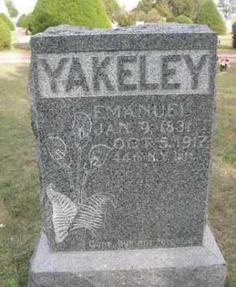 YAKELEY, EMANUEL - Dawes County, Nebraska | EMANUEL YAKELEY - Nebraska Gravestone Photos