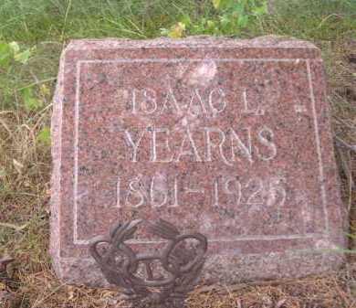 YEARNS, ISAAC L. - Dawes County, Nebraska | ISAAC L. YEARNS - Nebraska Gravestone Photos