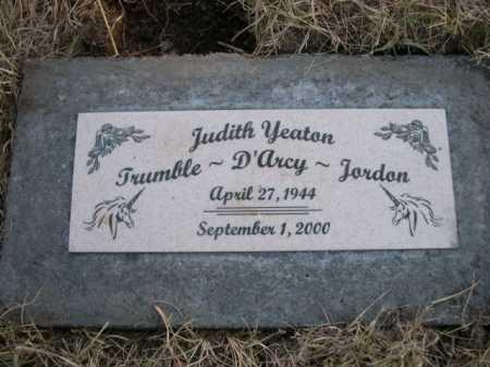 YEATON, JUDITH - Dawes County, Nebraska | JUDITH YEATON - Nebraska Gravestone Photos