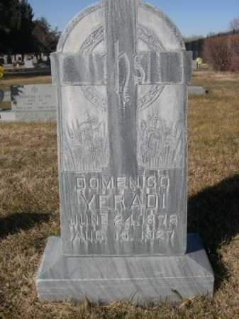 YERADI, DOMENICO - Dawes County, Nebraska | DOMENICO YERADI - Nebraska Gravestone Photos