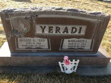 "YERADI, AUGUST G. ""GUS"" - Dawes County, Nebraska 
