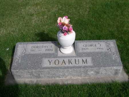 YOAKUM, DOROTHY I. - Dawes County, Nebraska   DOROTHY I. YOAKUM - Nebraska Gravestone Photos