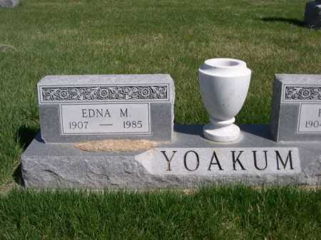 YOAKUM, EDNA M. - Dawes County, Nebraska | EDNA M. YOAKUM - Nebraska Gravestone Photos