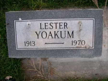 YOAKUM, LESTER - Dawes County, Nebraska | LESTER YOAKUM - Nebraska Gravestone Photos
