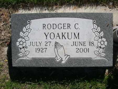 YOAKUM, RODGER C. - Dawes County, Nebraska | RODGER C. YOAKUM - Nebraska Gravestone Photos