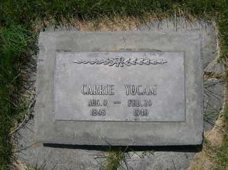 YOCAM, CARRIE - Dawes County, Nebraska   CARRIE YOCAM - Nebraska Gravestone Photos
