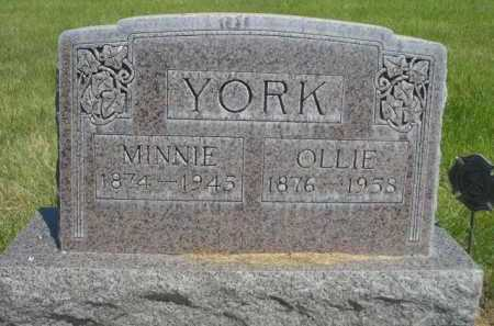 YORK, OLLIE - Dawes County, Nebraska | OLLIE YORK - Nebraska Gravestone Photos