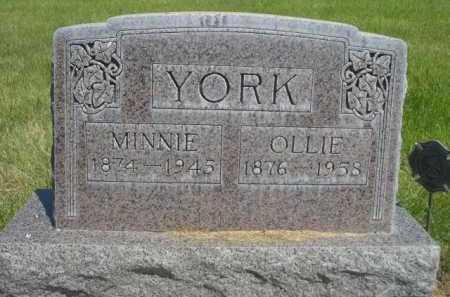 YORK, OLLIE - Dawes County, Nebraska | OLLIE YORK - Nebraska Gravestone Photos