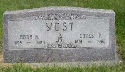 YOST, ANNA A. - Dawes County, Nebraska | ANNA A. YOST - Nebraska Gravestone Photos