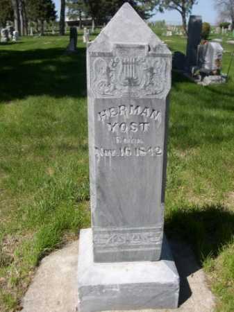 YOST, HERMAN - Dawes County, Nebraska | HERMAN YOST - Nebraska Gravestone Photos