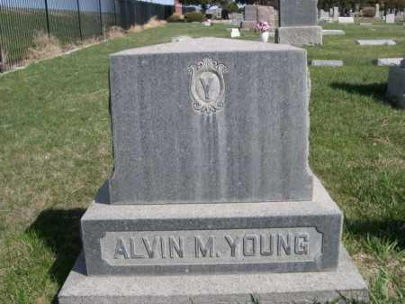 YOUNG, ALVIN - Dawes County, Nebraska | ALVIN YOUNG - Nebraska Gravestone Photos