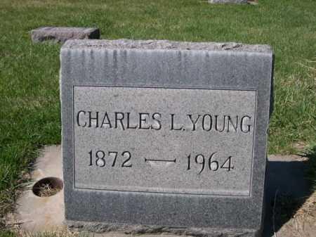 YOUNG, CHARLES L. - Dawes County, Nebraska | CHARLES L. YOUNG - Nebraska Gravestone Photos