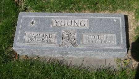 YOUNG, EDITH B. - Dawes County, Nebraska | EDITH B. YOUNG - Nebraska Gravestone Photos