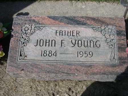 YOUNG, JOHN F. - Dawes County, Nebraska | JOHN F. YOUNG - Nebraska Gravestone Photos