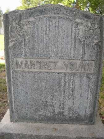 YOUNG, MARGRET - Dawes County, Nebraska | MARGRET YOUNG - Nebraska Gravestone Photos