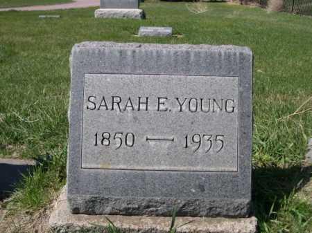 YOUNG, SARAH E. - Dawes County, Nebraska | SARAH E. YOUNG - Nebraska Gravestone Photos