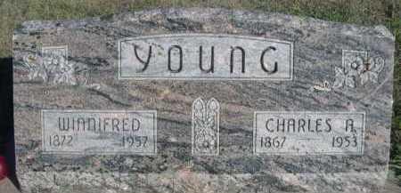 YOUNG, CHARLES A. - Dawes County, Nebraska | CHARLES A. YOUNG - Nebraska Gravestone Photos