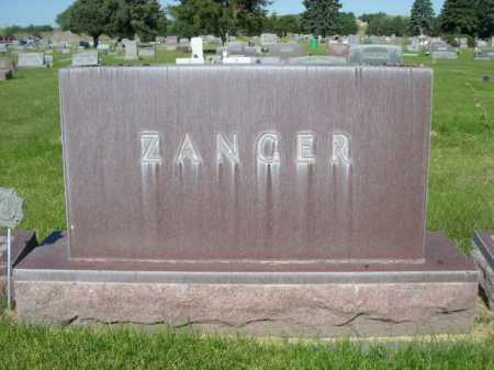 ZANGER, FAMILY - Dawes County, Nebraska | FAMILY ZANGER - Nebraska Gravestone Photos