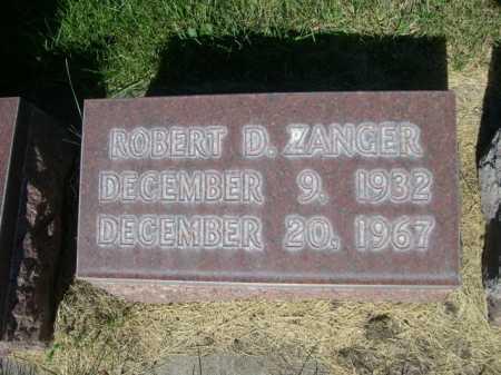ZANGER, ROBERT D. - Dawes County, Nebraska | ROBERT D. ZANGER - Nebraska Gravestone Photos