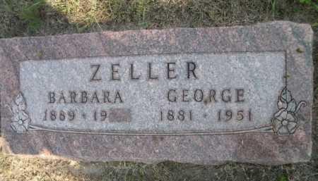 ZELLER, GEORGE - Dawes County, Nebraska | GEORGE ZELLER - Nebraska Gravestone Photos