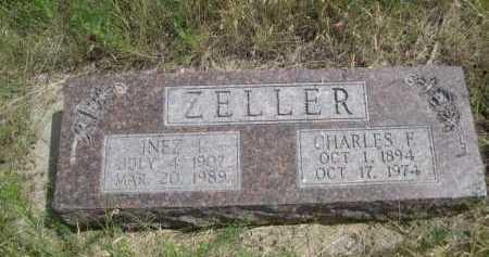 ZELLER, INEZ I. - Dawes County, Nebraska | INEZ I. ZELLER - Nebraska Gravestone Photos