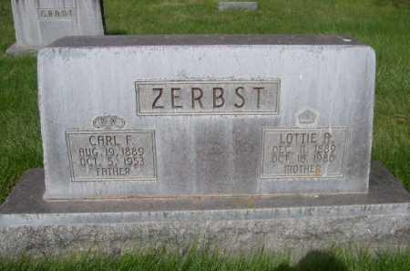 ZERBST, LOTTIE A. - Dawes County, Nebraska | LOTTIE A. ZERBST - Nebraska Gravestone Photos