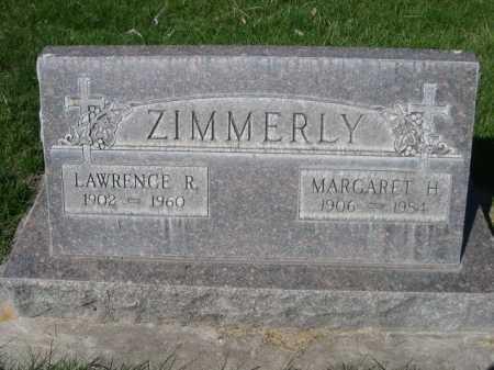 ZIMMERLY, LAWRENCE R. - Dawes County, Nebraska | LAWRENCE R. ZIMMERLY - Nebraska Gravestone Photos