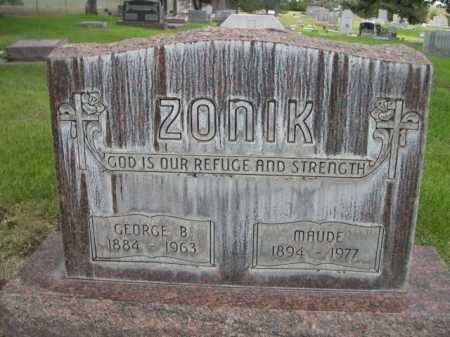 ZONIK, MAUDE - Dawes County, Nebraska | MAUDE ZONIK - Nebraska Gravestone Photos