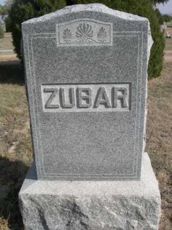 ZUBAR, FAMILY - Dawes County, Nebraska | FAMILY ZUBAR - Nebraska Gravestone Photos