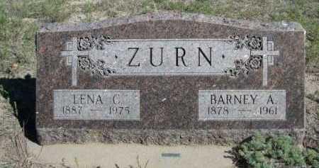 ZURN, LENA C. - Dawes County, Nebraska | LENA C. ZURN - Nebraska Gravestone Photos