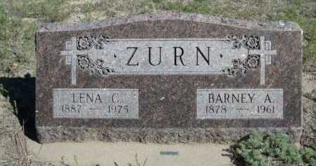 ZURN, BARNEY A. - Dawes County, Nebraska | BARNEY A. ZURN - Nebraska Gravestone Photos