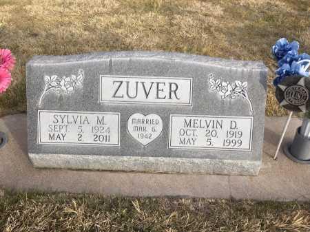 ZUVER, SYLVIA M. - Dawes County, Nebraska | SYLVIA M. ZUVER - Nebraska Gravestone Photos