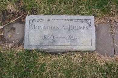 HOLMES, JONATHAN A. - Dawson County, Nebraska | JONATHAN A. HOLMES - Nebraska Gravestone Photos
