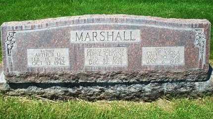 MARSHALL, OLIVE VIOLA - Dawson County, Nebraska | OLIVE VIOLA MARSHALL - Nebraska Gravestone Photos