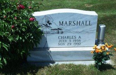MARSHALL, CHARLES A. - Dawson County, Nebraska | CHARLES A. MARSHALL - Nebraska Gravestone Photos