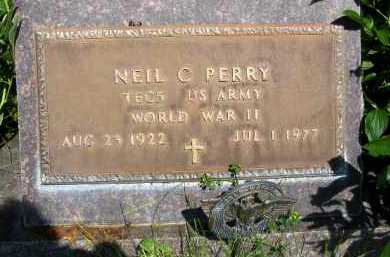 PERRY, NEIL C. - Dawson County, Nebraska   NEIL C. PERRY - Nebraska Gravestone Photos