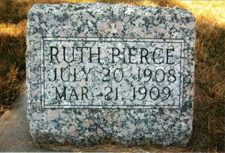 PIERCE, RUTH VIOLA - Dawson County, Nebraska | RUTH VIOLA PIERCE - Nebraska Gravestone Photos