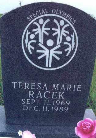 RACEK, TERESA MARIE - Dawson County, Nebraska   TERESA MARIE RACEK - Nebraska Gravestone Photos