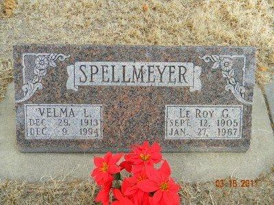 SPELLMEYER, LEROY G. - Dawson County, Nebraska | LEROY G. SPELLMEYER - Nebraska Gravestone Photos