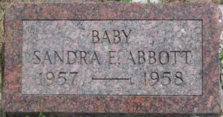 ABBOTT, SANDRA E. - Dixon County, Nebraska | SANDRA E. ABBOTT - Nebraska Gravestone Photos