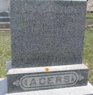 ACERS, GEORGE OWEN - Dixon County, Nebraska   GEORGE OWEN ACERS - Nebraska Gravestone Photos