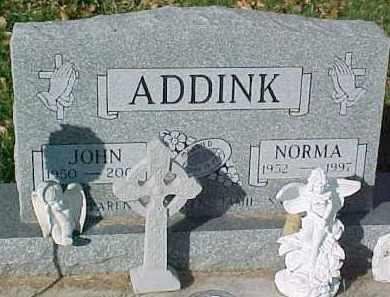 ADDINK, NORMA - Dixon County, Nebraska | NORMA ADDINK - Nebraska Gravestone Photos