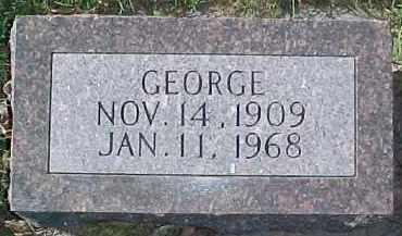 AEVERMAN, GEORGE - Dixon County, Nebraska | GEORGE AEVERMAN - Nebraska Gravestone Photos